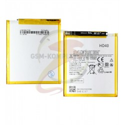 Аккумулятор HD40 для Motorola XT1789 Moto Z2 Force, Li-Polymer, 3,8, 2730 мАч