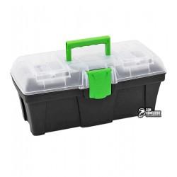 """кейс для інструментів з органайзером Virok """"Green box 15"""" 398 x 200 x 186мм"""