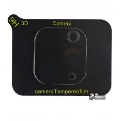 Закаленное защитное стекло на камеру для iPhone 11 Pro, iPhone 11 Pro Max, 2,5D, Full Glue, черное