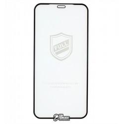 Закаленное защитное стекло для iPhone 12 mini, 2.5D, Full Glue, черное