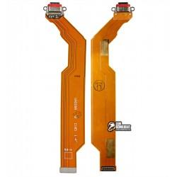 Шлейф для Oppo Reno 3 Pro, коннектора зарядки, USB Type-C