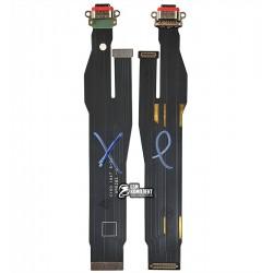 Шлейф для Oppo Reno 3, коннектора зарядки, USB Type-C