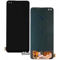 Дисплей для OnePlus Nord, черный, с сенсорным экраном (дисплейный модуль), Original (PRC)
