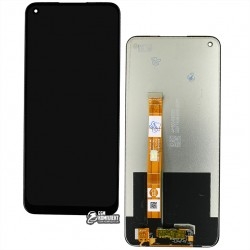 Дисплей Oppo A53 с сенсорным экраном (дисплейный модуль), черный