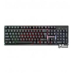 Клавиатура REAL-EL Comfort 7011 Backlit USB Black