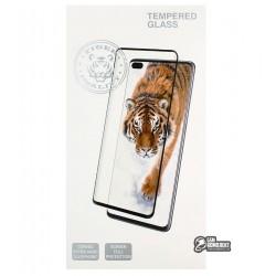 Закаленное защитное стекло для iPhone 12, iPhone 12 Pro, Tiger Glass, 3D, черное