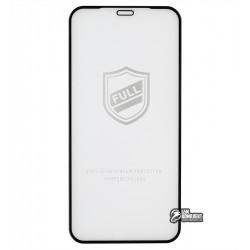 Закаленное защитное стекло для iPhone 12 mini, Tiger Glass, 2,5D, черное