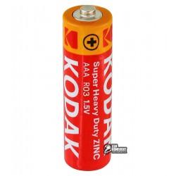 Батарейка Kodak Extra Heavy Duty R3, AAA, 1шт.