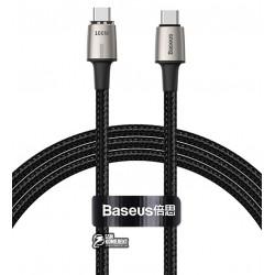 Кабель Type-C - Type-C, Baseus Zinc Magnetic Cable 100Вт (20V 5A) 1.2м, магнитный