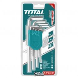 Набор TOTAL THT106191 ключей шестигранных, 1.5-10мм, 9шт