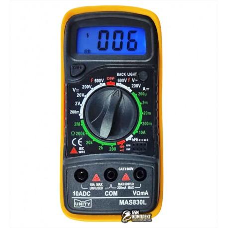 Мультиметр Fuke A830L с подсветкой экрана