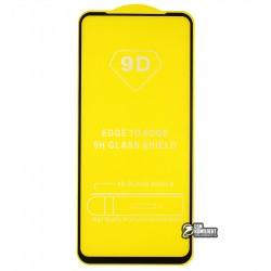 Закаленное защитное стекло для Oppo A52, A72, A73 5G, A92 2.5D, Full Glue, черное