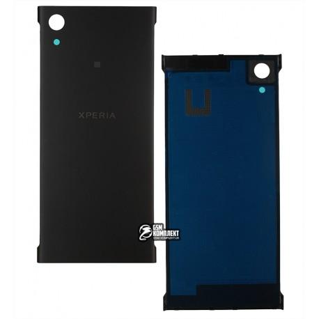 Задняя панель корпуса для Sony G3112 Xperia XA1 Dual, G3116 Xperia XA1 Dual, G3121 Xperia XA1, G3125 Xperia XA1, черная