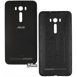 Задня кришка батареї для Asus ZenFone 2 Laser (ZE551KL), чорний колір