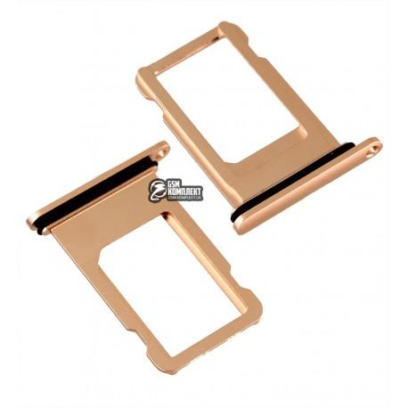 Тримач SIM-карти для iPhone 8 Plus, rose gold
