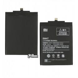 Аккумулятор BM47 для Xiaomi Redmi 3, Redmi 3S, Redmi 3X, Redmi 4X, Li-Polymer, 3,85 B, 4000 мАч, high copy