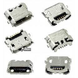 Коннектор зарядки Micro-USB для Blackberry 9350, 9360, 9370, 5 pin, тип-B