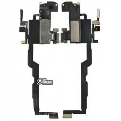 Шлейф для Apple iPhone XS, c датчиком наближення, з мікрофоном, з динаміком, High Copy
