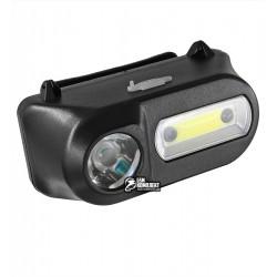 Налобний ліхтарик з датчиком руху