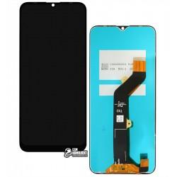 Дисплей Tecno Spark 6 Go, з сенсорним екраном (дисплейний модуль), чорний
