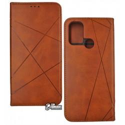 Чохол для Oppo A53, Business, книжка, коричневий