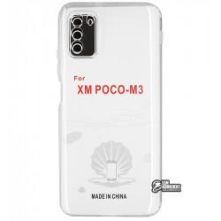 Чехол для Xiaomi Poco M3, KST, силикон, прозрачный