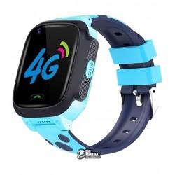 Дитячі смарт годинник Smart Baby Watch Y95, з GPS трекером, з камерою, MicroSIM, WiFi, 4G, сині