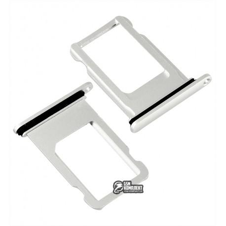 Держатель SIM-карты для iPhone 8 Plus, белый