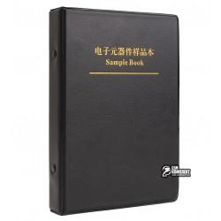 Книга з набором SMD конденсаторів 0805, 105 видів по 25шт