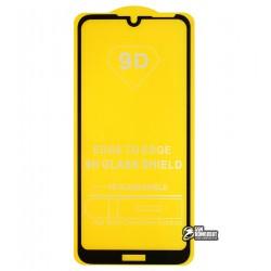 Захисне скло для Motorola E6S, 2.5D, Full Glue, чорне