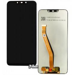 Дисплей Huawei Nova 3i, P Smart Plus, чорний, з тачскріном, grade B, High Copy
