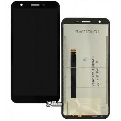 Дисплей для Blackview BV4900, черный, с сенсорным экраном (дисплейный модуль)