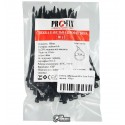 Стяжки кабельные 80 х 3 мм ProFix, черные, 100шт