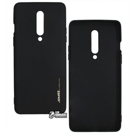 Чехол для OnePlus 8, Smtt, силиконовый, матовый, черный