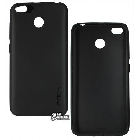 Чехол для Xiaomi Redmi 4X, Rock, силиконовый, черный