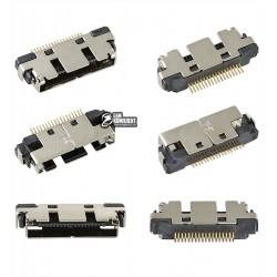 Коннектор зарядки для Samsung D600, E330, E330N, E360, E380, E730, E750, E760, E800, E820, S400i, X4