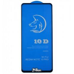 Защитное стекло для Xiaomi Redmi Note 10 Pro, Redmi Note 10 Pro Max, Redmi K40, Redmi K40 Pro, Redmi K40 Pro+, Poco F3, Titanium, 4D, черное
