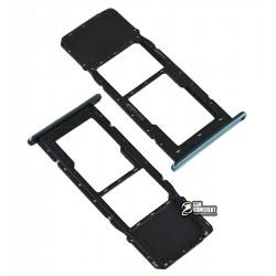 Держатель SIM-карты для LG K61, с держателем MMC, серый