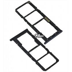 Держатель SIM-карты Asus ZenFone Max Pro M2 (ZB631KL), синий