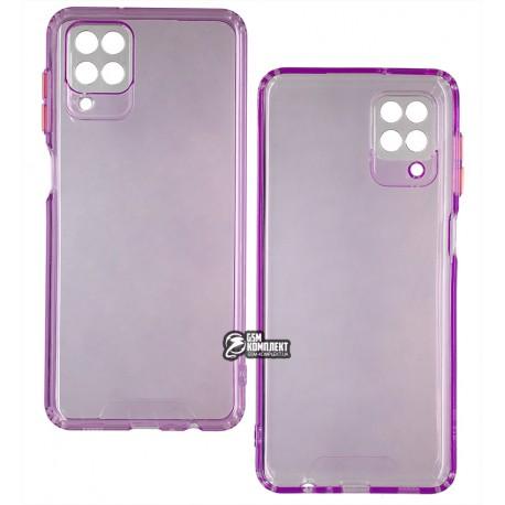 Чехол для Samsung A125 Galaxy A12, M125 Galaxy M12, Acid Color, прозрачный силикон, purple