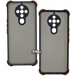Чехол для Tecno Spark 6 (KE7), Shock Matte Case, силиконовый, черный