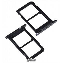 Держатель SIM-карты для планшета Samsung T285 Galaxy Tab A 7.0 LTE, черный