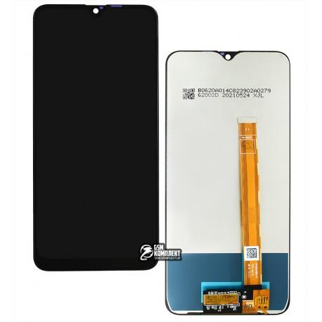 Дисплей для Oppo A12, A5s, A7, Realme 3, 3i, чорний, з сенсорним екраном, жовті шлейфи, High Copy, CPH2083, CPH2077, CPH1909, CPH1920, CPH1912, CPH...