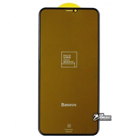 Защитное стекло Baseus 0.25mm Full-screen Curved Privac For iPhone XS Max/11 Pro Max \ Black