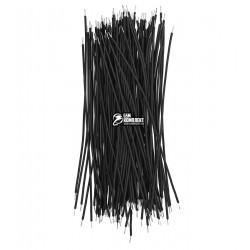 Дротики луджені чорні 100 шт, 80 мм