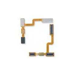 Шлейф для LG KF300, оригинал, межплатный, с компонентами
