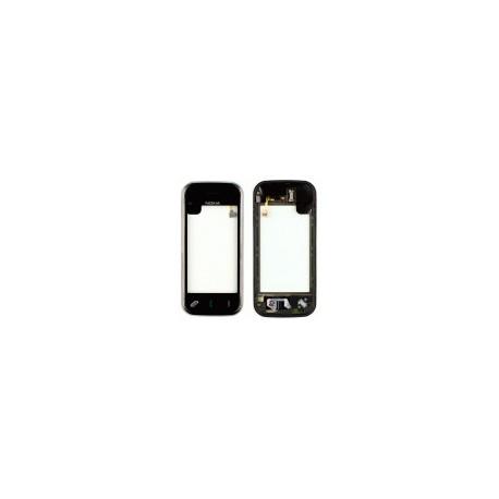 Тачскрин для Nokia N97 Mini, черный, с передней панелью