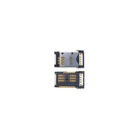 Коннектор SIM-карты для Nokia 3120c, 3250, 8800 Arte, N82, N900