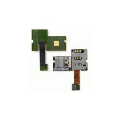 Коннектор SIM-карты для Nokia E51, коннектор карты памяти, со шлейфом