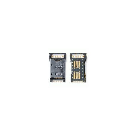 Коннектор SIM-карты для Nokia N82